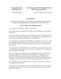 Quyết định số 851/QĐ-UBND