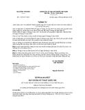 Thông tư số 11/2012/TT-BCT