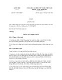 Luật số: 16/2012/QH13