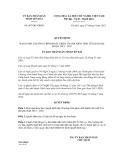 Quyết định số 607/QĐ-UBND