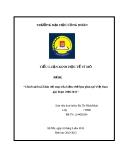 Tiểu luận: Chính sách tài khóa với mục tiêu kiềm chế lạm phát tại Việt Nam giai đoạn 2006-2011