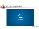 Tìm hiệu Drupal CMS