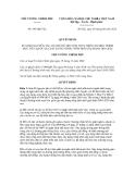 Quyết định số 695/QĐ-TTg