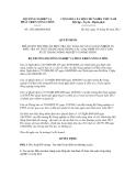 Quyết định số  1452/QĐ-BNN-KH
