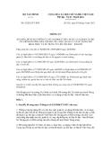 Thông tư số 92/2012/TT-BTC