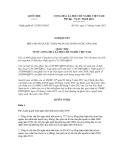 Nghị quyết số: 25/2012/QH13