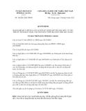 Quyết định số 166/2012/QĐ-UBND