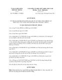 Quy chế phối hợp số 595/QĐHC-CTUBND