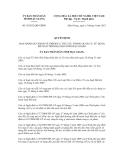 Quyết định số 18/2012/QĐ-UBND