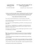 Quyết định số 1459/2012/QĐ-UBND