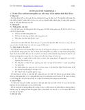 HƯỚNG DẪN THÍ NGHIỆM BÀI 2 :  Khảo sát hiện tượng phân cực ánh sáng - kiểm nghiệm định luật Malus