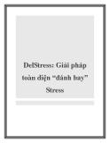 DelStress Giải pháp toàn diện đánh bay Stress