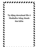 Tự động download file ở Mediafire bằng thanh tìm kiếm