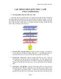 LẬP TRÌNH THEO KIẾN TRÚC 3 LỚP (3-tiers architechture)