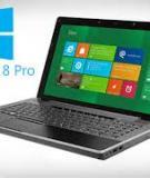 Triết lý thiết kế Windows 8 nằm ở khả năng cập nhật thông tin