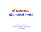 HỘI THẢO KỸ THUẬT-Công ty Honda Việt nam