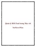 Quản lý RSS Feed trong Mac với NetNewsWire