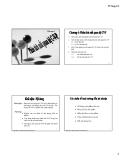Chương 4: Phân tích mối quan hệ CVP