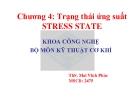 Bài thuyết trình sức bền vật liệu- Chương 5