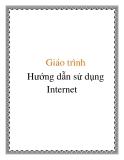 Giáo trình Hướng dẫn sử dụng Internet