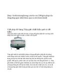 Giải pháp dử dụng Tháp giải nhiệt hiệu quả và tiết kiệm
