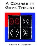 A Course in Game Theory Solution Manual