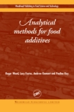 Book: Analytical methods for food additives