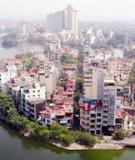 Tương lai đô thị Việt Nam – Hành động hôm nay