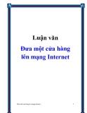 Luận văn Đưa một cửa hàng lên mạng Internet