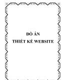 ĐỒ ÁN THIẾT KẾ WEBSITE