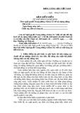 Mẫu kiểm điểm Nghị quyết TW4-BẢN KIỂM ĐIỂM TỰ PHÊ BÌNH VÀ PHÊ BINH