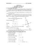 Giáo trình Vật lý 2 - chương 4 Giao động và sóng