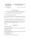 Thông tư liên tịch số 22/2012/TTLT-BGTVTBVHTTDL