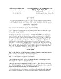 Quyết định số 685/QĐ-TTg