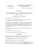 Quyết định số 145/QĐ-QLD