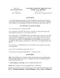 Quyết định số 147/QĐ-QLD