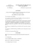 Quyết định số 149/QĐ-QLD