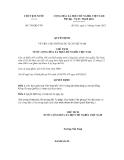 Quyết định số 756/QĐ-CTN