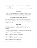 Quyết định số 2481/QĐ-CHK