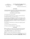 Quyết định số 146/QĐ-QLD