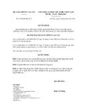 Quyết định số 1529/QĐ-BGTVT