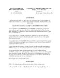 Quyết định số  1450/QĐ-BNN-KH