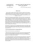 Thông báo số 146/TB-UBND