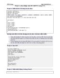Project ví dụ về lập trình PIC16F877A trong CCS