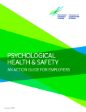 PSYCHOLOGICAL HEALTH & SAFETY AN ACTION GUIDE FOR EMPLOYERS