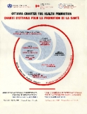 The first International Conference on Health Promotion, meeting in Ottawa