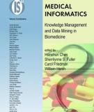 Sách: MEDICAL INFORMATICS Knowledge Management and Data Mining in Biomedicine