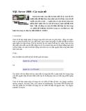 SQL Server 2000 : Các toán tử