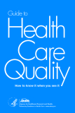 Guide to Health Care Quality