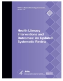 Health Literacy Interventions and Outcomes: An Updated Systematic Review